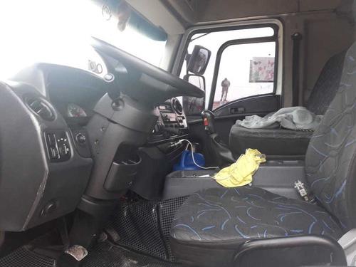 ford cargo 2428 bitruck 8x2  carroceria ano 2012