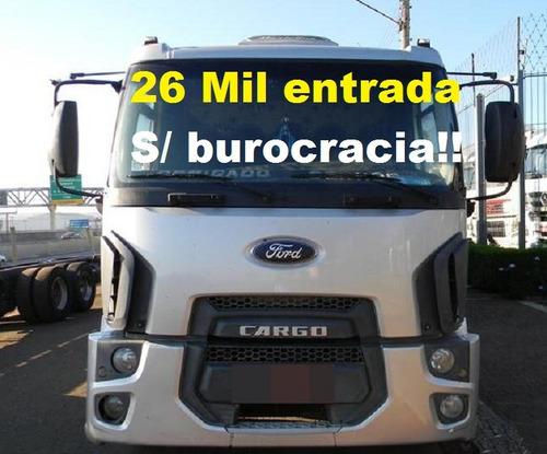 ford cargo 2428 carroceria