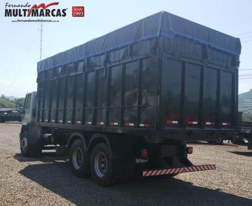ford cargo 2428 e - caçamba 36 m³