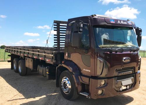 ford cargo- 2429- 6x2 - 2013/13 - carroceria
