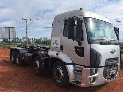 ford cargo 2429 caçamba 2018 0km