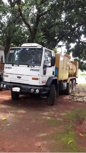 ford cargo 2622 6x4 comboio melosa tanque 7.000 lts.