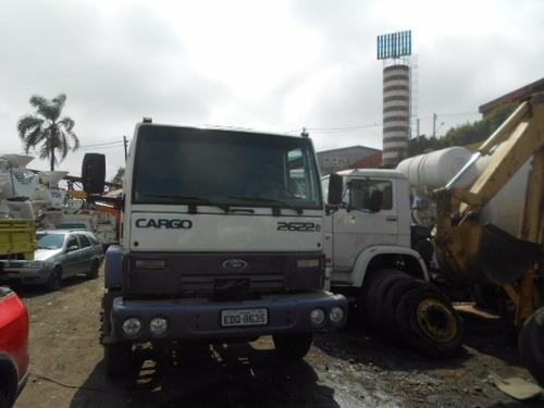 ford cargo 2622e ano 2009 6x4 unico dono dono/pronto p/trab