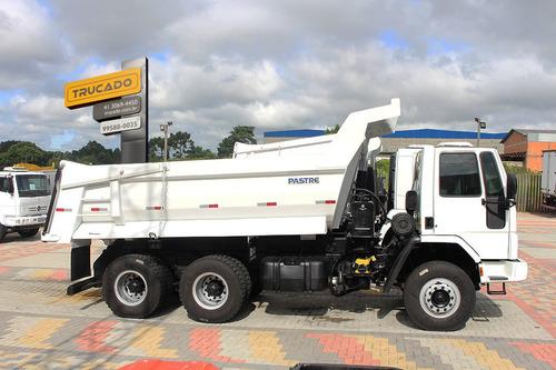 ford cargo 2628 2007 6x4 caçamba meia cana 12 m minério