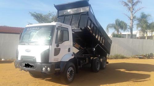 ford cargo 2628 (2012) 6x4 - caçamba
