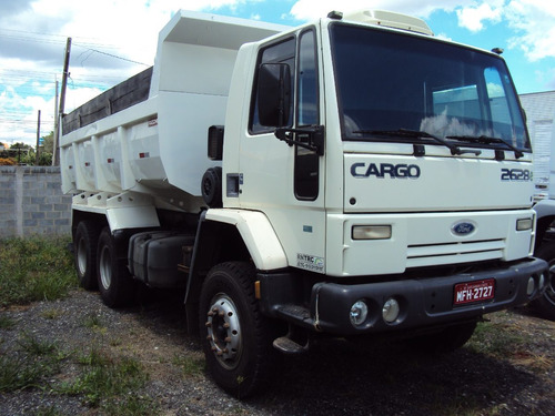 ford cargo 2628 6x4 branco ano 2009