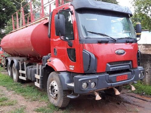 ford cargo 2628 6x4 pipa gascom 20.000 litros ano 2010/2011