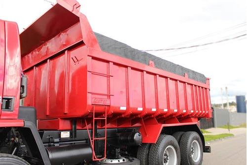 ford cargo 2628 caçamba (6x4) ano 2008