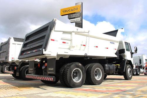 ford cargo 2628 caçamba traçado 6x4 ano 2007 = mb 2726 2729