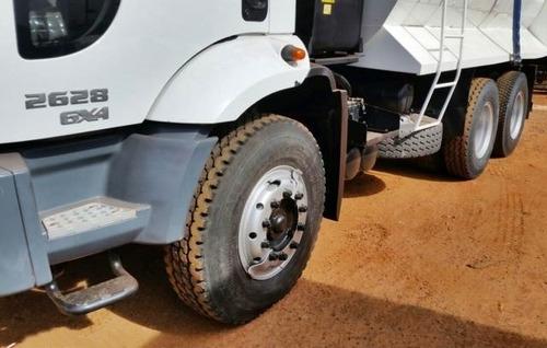 ford cargo 2628 e turbo 6x4 2012 branca  g