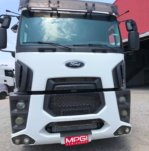 ford cargo 2842 6x2 2014 automático ! apenas r$133.000