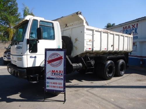 ford cargo 2932, 6x4, 2007, caçamba, traçado