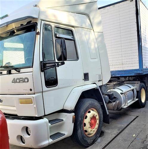 ford cargo 4030 leito 1996 único dono