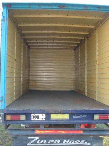 ford cargo 712 año 2011 caja para pallets 8 puertas lateral