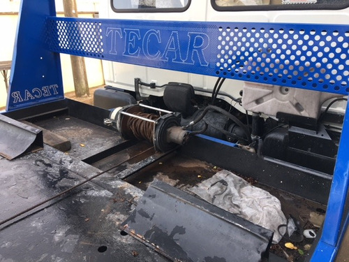 ford cargo 814 1997 guincho plataforma tekar com asa delta