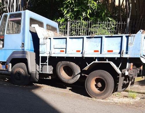 ford cargo 814 basculante caçamba abrir lateral ano 1998