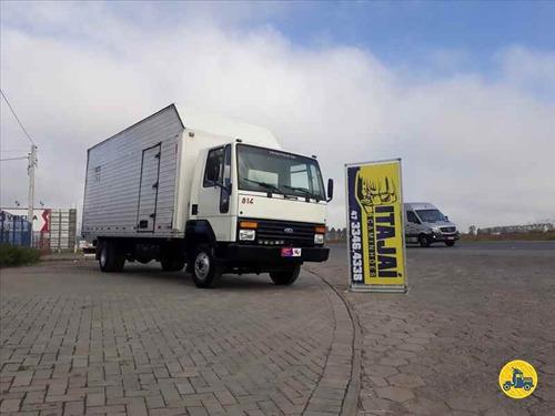 ford cargo 814 com bau