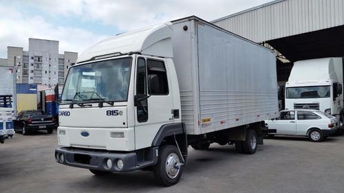 ford cargo 815 06 baú