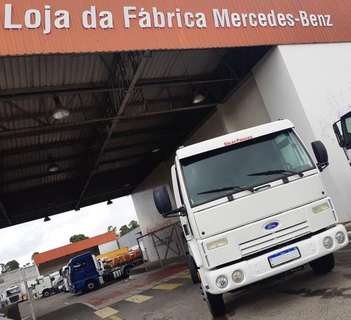 ford cargo 815 = 08/09 = chassi = 3/4 = garantia