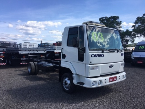 ford cargo 815 ano 2003 chassi doc baú - filé