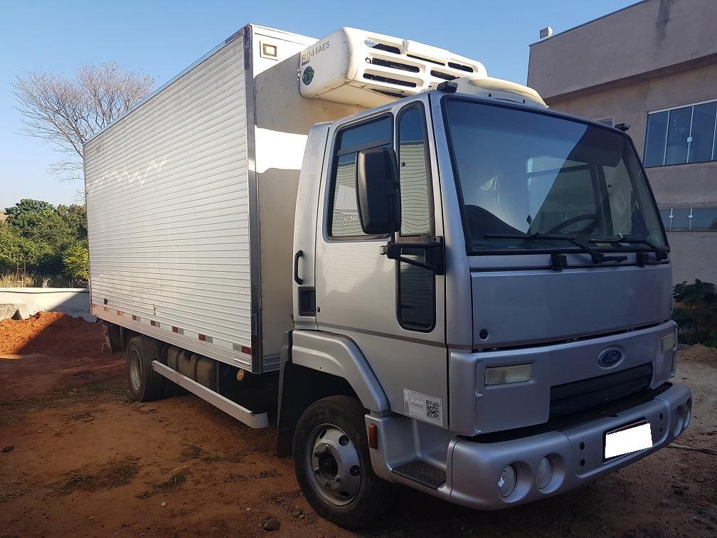 Ford Cargo 815 Ano 2011 12 Equipado Com Bau Frigorifico R 96 000