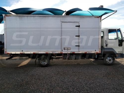 ford cargo 815 bau de 6,20 - motor zero