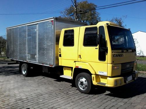 ford cargo 815 super lindo rossatto caminhões