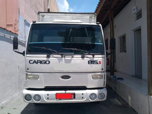 ford cargo 815s 2005 3/4 baú aluminio 6m ta barato demais!!!