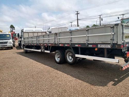 ford cargo 816 6x2 2013 carroceria 8m
