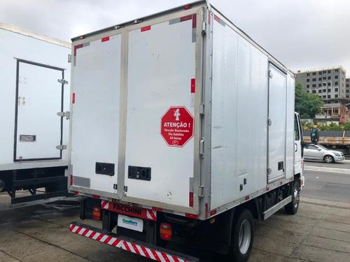 ford cargo 816 ano 2013 bau 4 mts / financia 100%
