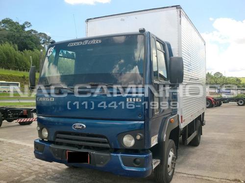 ford cargo 816 s ano 2014/2014 vuc bau 4,20 mts