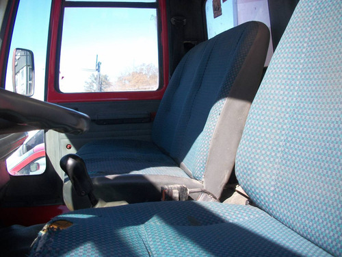 ford cargo 914 con furgón térmico muy bueno.