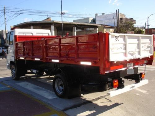 ford cargo 915 volcador  bivuelco