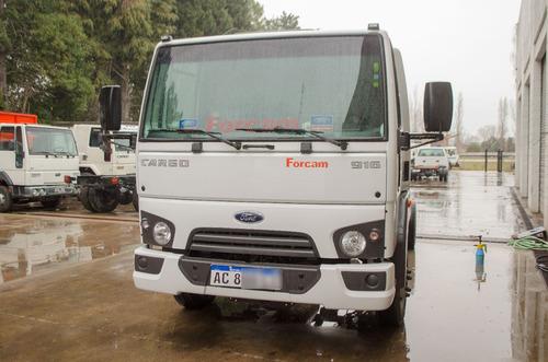 ford cargo 916 0km blanco forcam