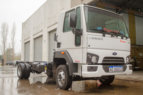 ford cargo 916 0km blanco forcam