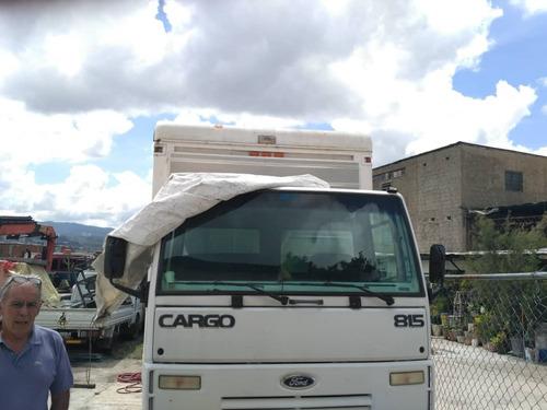 ford cargo modelo 815 año 2010, 50.mil km, único dueño