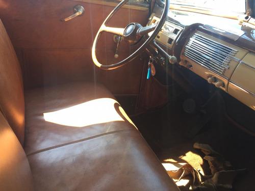 ford conversível 1940 placa preta