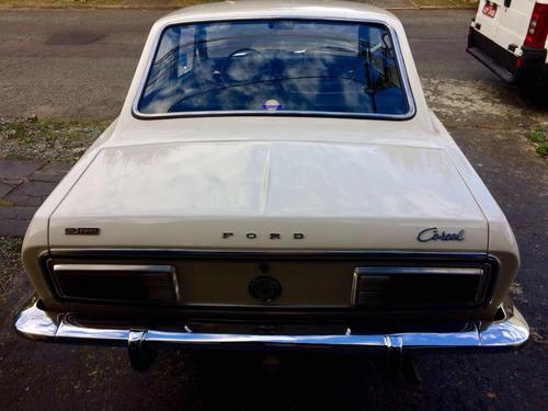 ford corcel 1 1975 placa preta