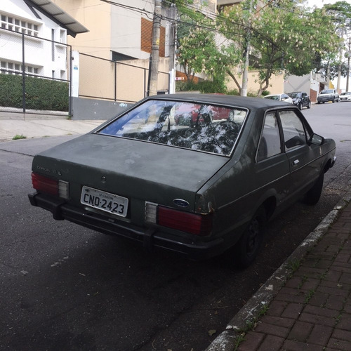 ford corcel 2 l 1983 1.6 cht alcool