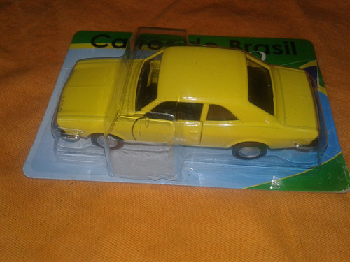 ford corcel. coleccion- metal. carros do brasil.