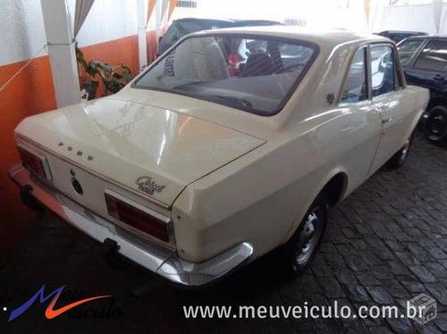 ford corcel gt 1.4 1977 branco