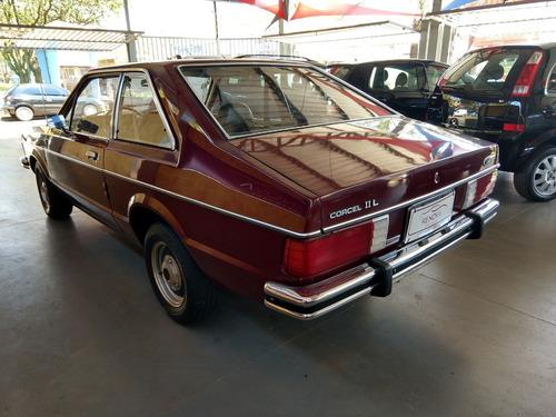ford corcel ii l 1.6 1979 vermelho