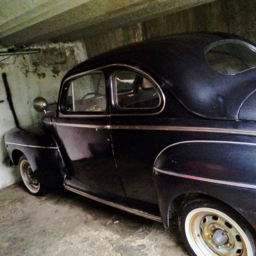 ford coupe v8 1946 negro
