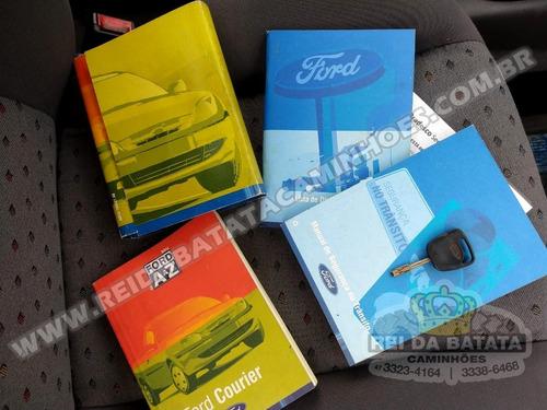 ford courier 1.6 l flex único dono impecável