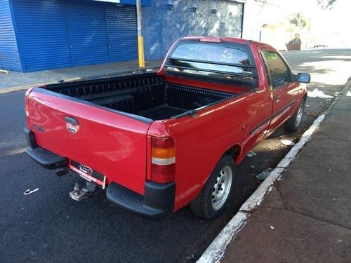 ford courier l 1.6 vermelho 2009