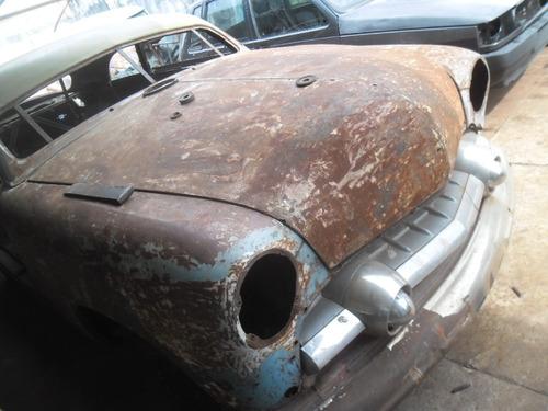 ford custom 1951 hot rod docks em dia placa do ano + mecanic