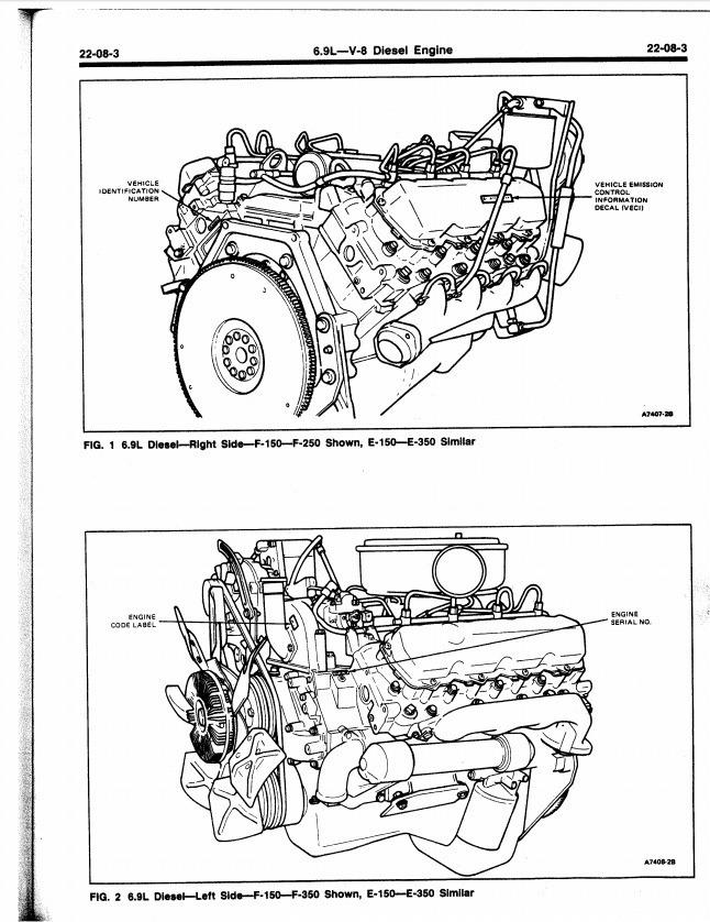 Ford Diesel Navistar Powerstroke 7 3l 6 0l 6 4l6 9l Servi