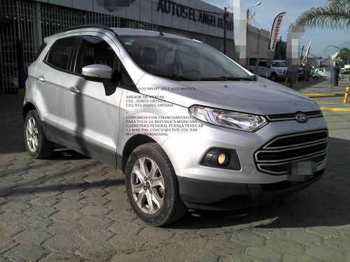 ford eco sport 2017 rend 4 cil automatica 2.0 eng$ 49,800