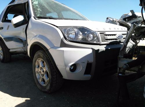 ford ecoesport 5vel 2012 accidentada solo por partes