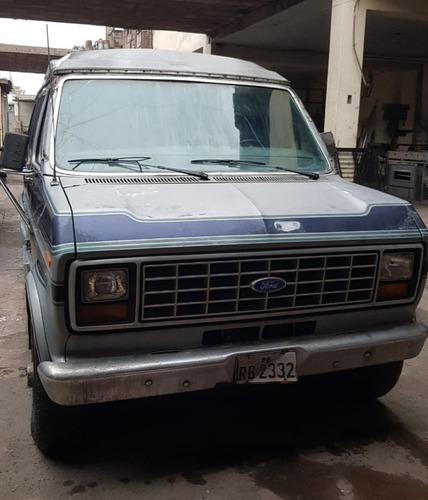 ford econoline 1990 d2 ideal para foodtruck